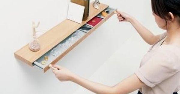 very clever hidden drawer