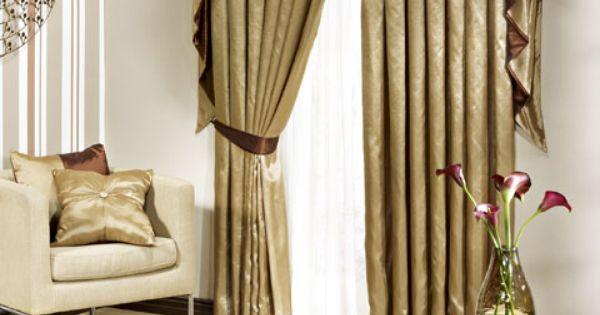 Homechoice pia curtains all that glitters is gold pinterest - Gardinen dekorationsvorschlage ...