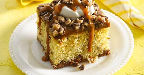 Ooey Gooey Caramel Cake recipe