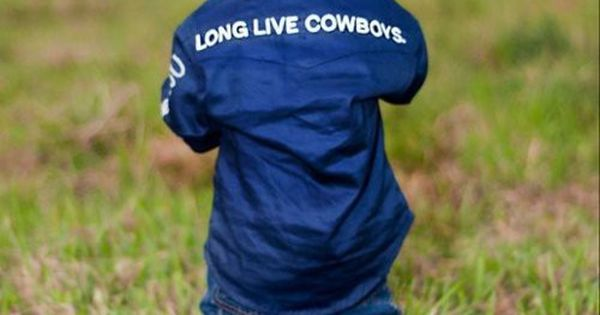 long live cowboys...so gonna be our little boy one day!!! :)