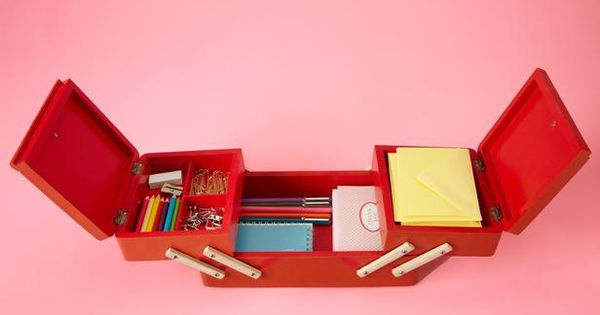 Stylish Storage Solutions : Decorating : HGTV - sewing box for office