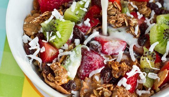 #HealthyRecipe - HighProtein & High Fibre Cereal. HealthyFood EatClean EatingClean yum yummy