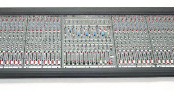 Mesa crest audio hp eight 32ch mesa de mezclas para for Media markt mesa de mezclas