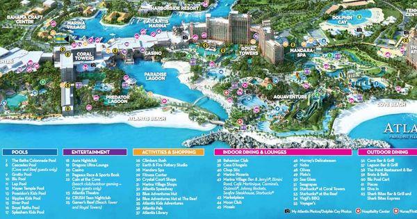 Atlantis Bahamas Map Google Search Groove Cruise Mia