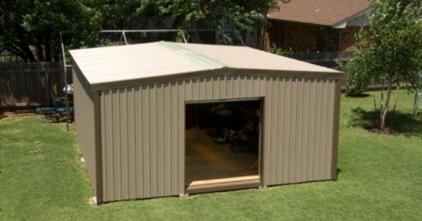 Best Size 24X24 Walls Desert Tan Trim Chestnut Brown Roof 400 x 300