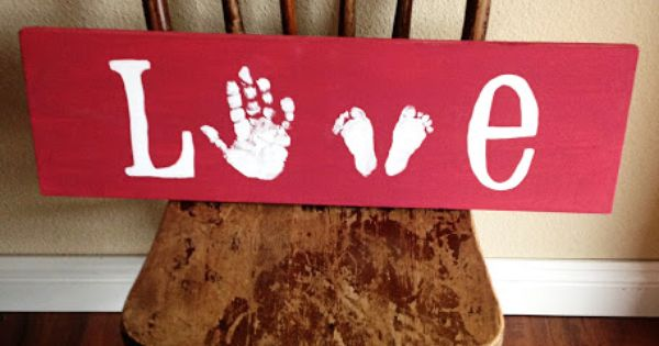 11 Cool Hand and Footprint Art Ideas. Love this for a baby