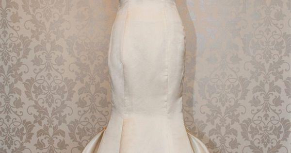 Sweetheart low back mermaid wedding dress