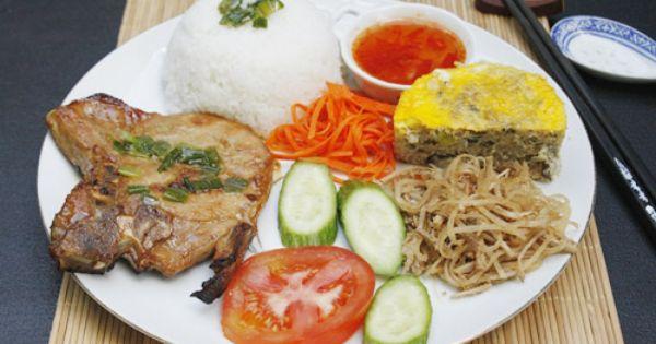 Com tam bi suon cha | Vietnamese Food in 2019 | Pork meat