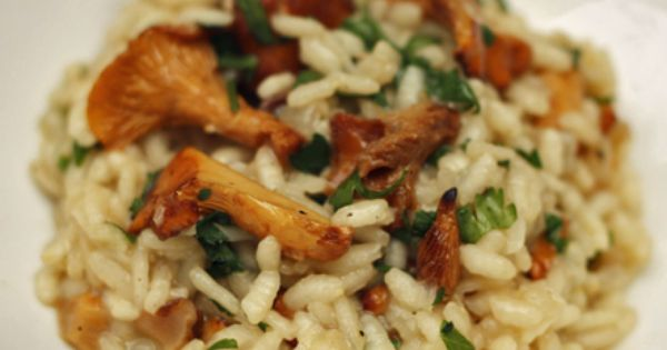 Mushroom risotto, Wild mushrooms and Risotto on Pinterest