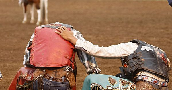 rodeo prayer Always a good idea when you enter the arena.......