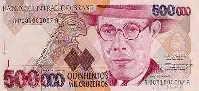 Museu De Valores Do Banco Central Cedulas Brasileiras Brasil