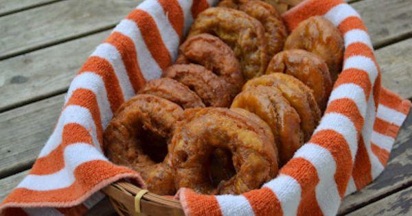 Pumpkin Spice Doughnuts - Frugal Girls