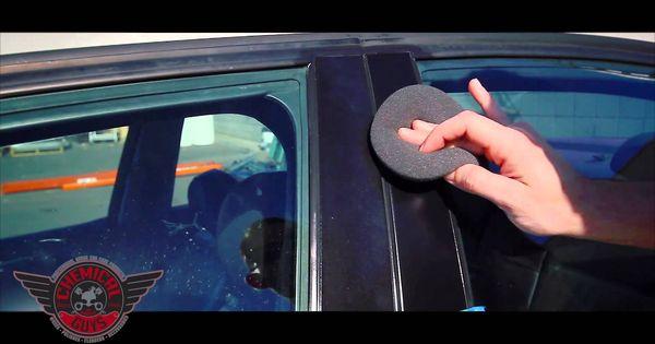 how to restore plastic trim chemical guys trim gel detailing car care diy repairs. Black Bedroom Furniture Sets. Home Design Ideas