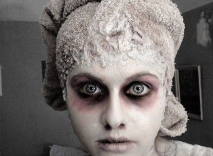 Tuto maquillage halloween zombie thanksgiving pinterest v tements et zombies - Tuto maquillage zombie ...
