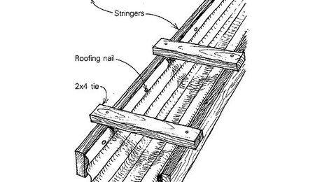 Site Built Concrete Chute Extension With Images Concrete Roofing Nails Chute