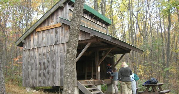 Absolutely deer lick shelter on appalachian trail