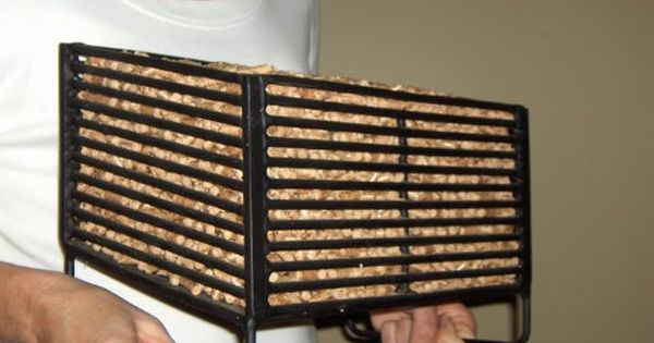 Wood Stoves: Wood Pellet Baskets For Wood Stoves