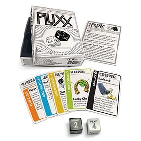 Fluxx Dice Looney Labs Games Dice Games Typing Games