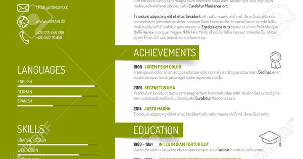 Image Result For Cv Cvs Pinterest Cv Design