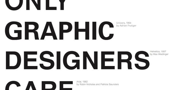 Only Graphic Designers Care Poster