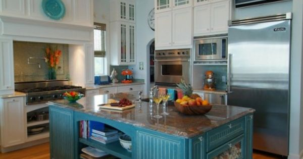 Tropical Island Kitchen : ... For the Home  Pinterest  Tropical kitchen, Islands and Turquoise