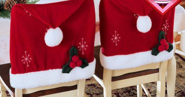 Price Tracking For Santa Hat Christmas Chair Covers Set Of 2 By Collections Etc 6074914 Price History Chart And Drop Alerts For Amazon Manythings Online Christmas Chair Covers Christmas Chair Creative Christmas