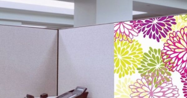 Dream Cubicle Easy Stick Polyester Fabric
