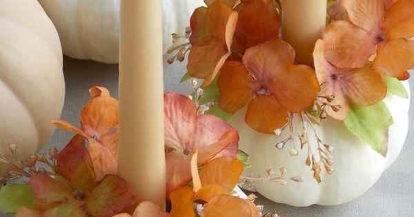 Composition florale en vase-citrouille et comment la réaliser ...