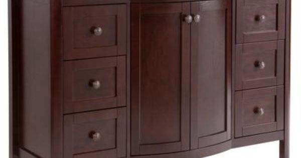 Home Decorators Collection Madeline 48 Inch Vanity Combo In Chestnut Md48p2c Cn Home Depot
