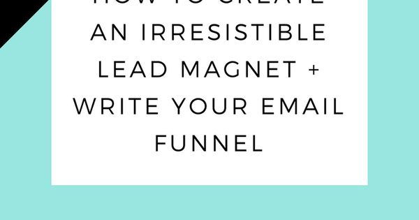How to create an irresistible lead magnet like a boss | opt-in freebie | grow your email list | list building strategies | landing page design | landing page copy | copywriting | landing page | video workshop | grow your blog | email funnel | email list growth >> Sign up for the free workshop training