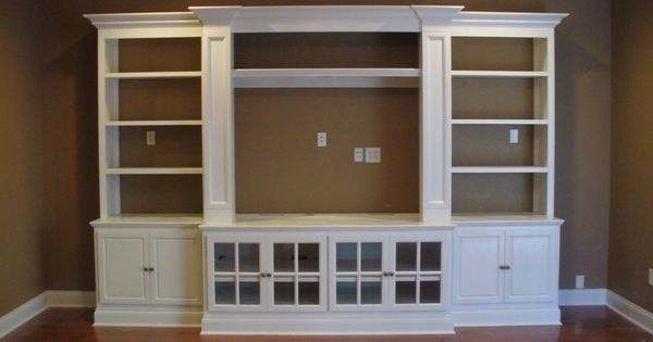built in entertainment center using ikea hemne pieces 2 bookcases 2