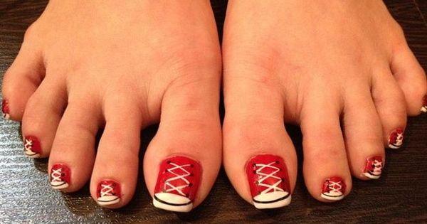 Converse nails u as tipo converse u as decoradas para for Decoracion de unas converse