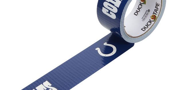 NFL Licensed Duck Tape® - Indianapolis Colts | ball ...