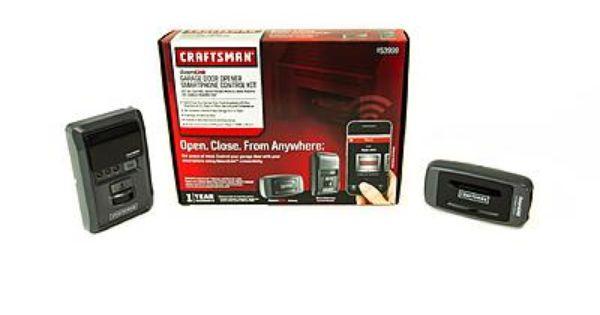 Craftsman Assurelink Garage Door Opener Control Kit Garage Doors Garage Door Opener Garage Remodel