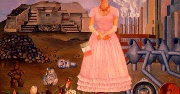 Frida Kahlo : Autorretrato en la frontera de México y ...