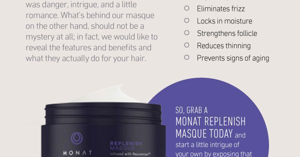 Monat Product Of The Month Monat Replenish Masque Www