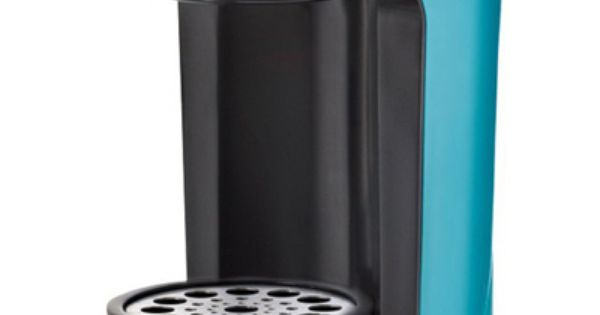 Bella One Cup Coffee Maker Turquoise : This BELLA Turquoise One Scoop One Cup Coffee Maker features a compact design takes up little ...