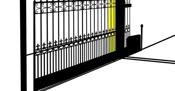 Sliding Gate Hazard Zones Sliding Gate Pinterest