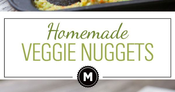Homemade Veggie Nuggets are the perfect vegetarian alternative to the chicken nugget.
