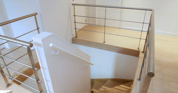 Moderne trap van trappen teck bezoek onze toonzaal in puurs moderne trappen - Redo houten trap ...