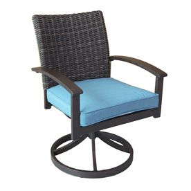 Remarkable Shop Allen Roth Atworth 2 Count Brown Aluminum Patio Gamerscity Chair Design For Home Gamerscityorg