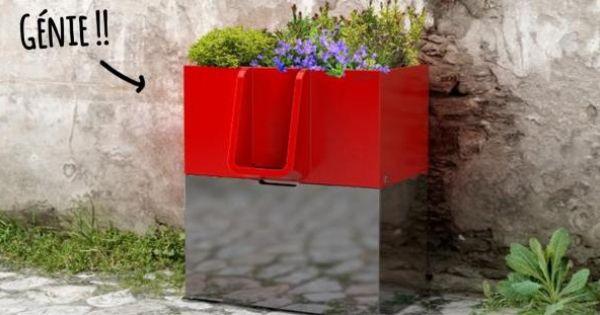 A Nantes Ces Urinoirs Ecologiques Font Pousser Des Fleurs Faire Pousser Des Fleurs Jardin Public Bac A Fleurs
