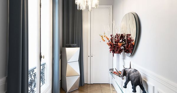 entr e d 39 un appartement haussmannien cr dit photo david cousin marsy id es pour la maison. Black Bedroom Furniture Sets. Home Design Ideas