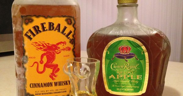 Fireball Whiskey And The New Regal Apple Crown Royal