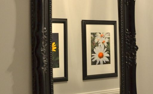 spray painted mirror frame spray paint party pinterest paint. Black Bedroom Furniture Sets. Home Design Ideas