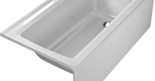 2nd floor bath architec bathtub with panel height 20 3 for Duravit architec tub
