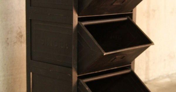 Meuble industriel tiroirs petit meuble d 39 appoint for Ikea meuble d appoint