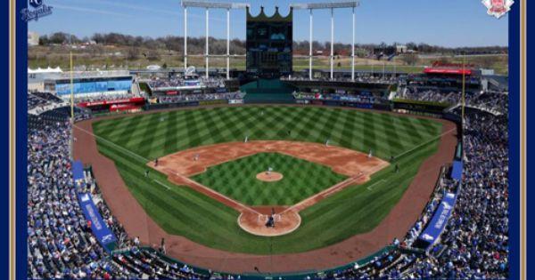 Kansas City Royals Kauffman Stadium Gameday Wall Poster Trends International Kansas City Royals Kansas City Kauffman Stadium
