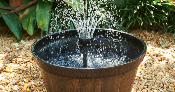 Shop Smartpond Container Fountain Kit With Pump At 20 Gardening Pinterest