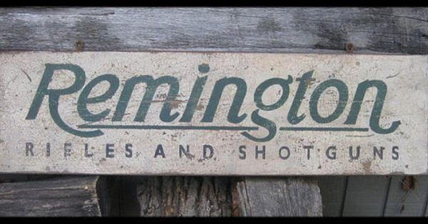 Vintage Remington Hunting Ad PHOTO Shotguns Rifles Shells Rustic Sign Decor PIC